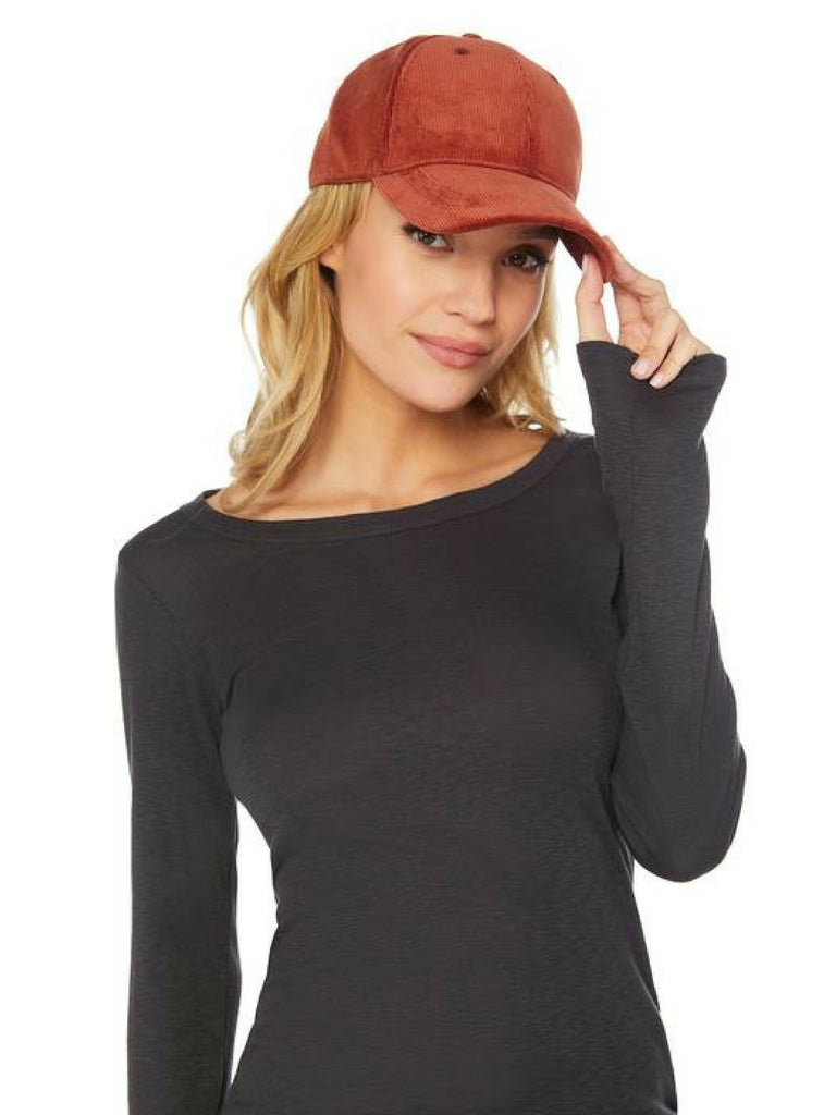 Woman wearing a hat rental from Michael Stars called Give Me Your Cashmere Fingerless Gloves