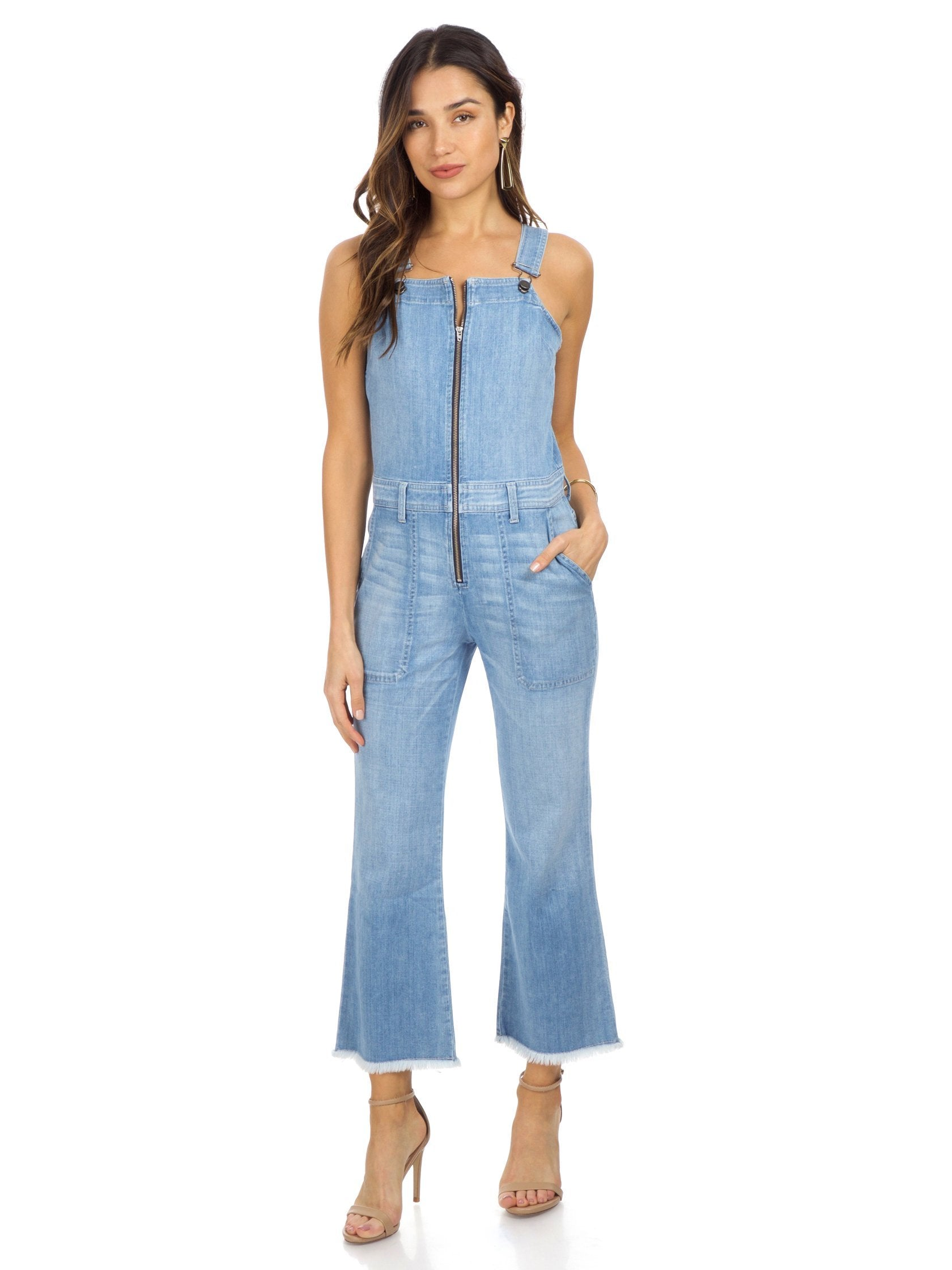 Girl outfit in a jumpsuit rental from ei8ht dreams called Flare Overall