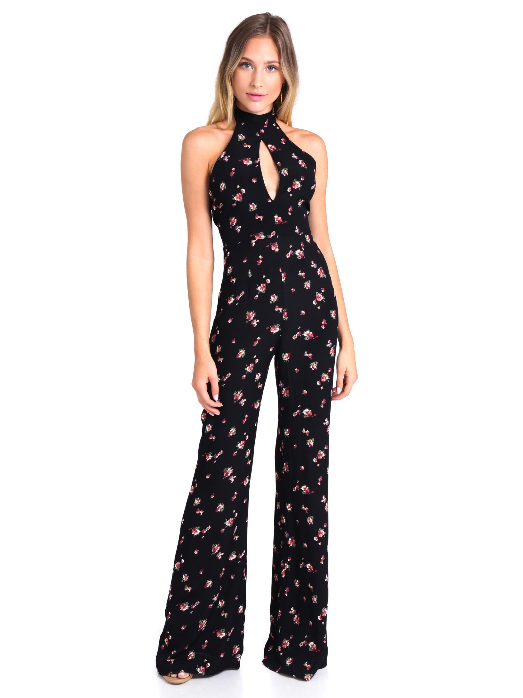 Girl outfit in a jumpsuit rental from Flynn Skye called Eliana Jumper