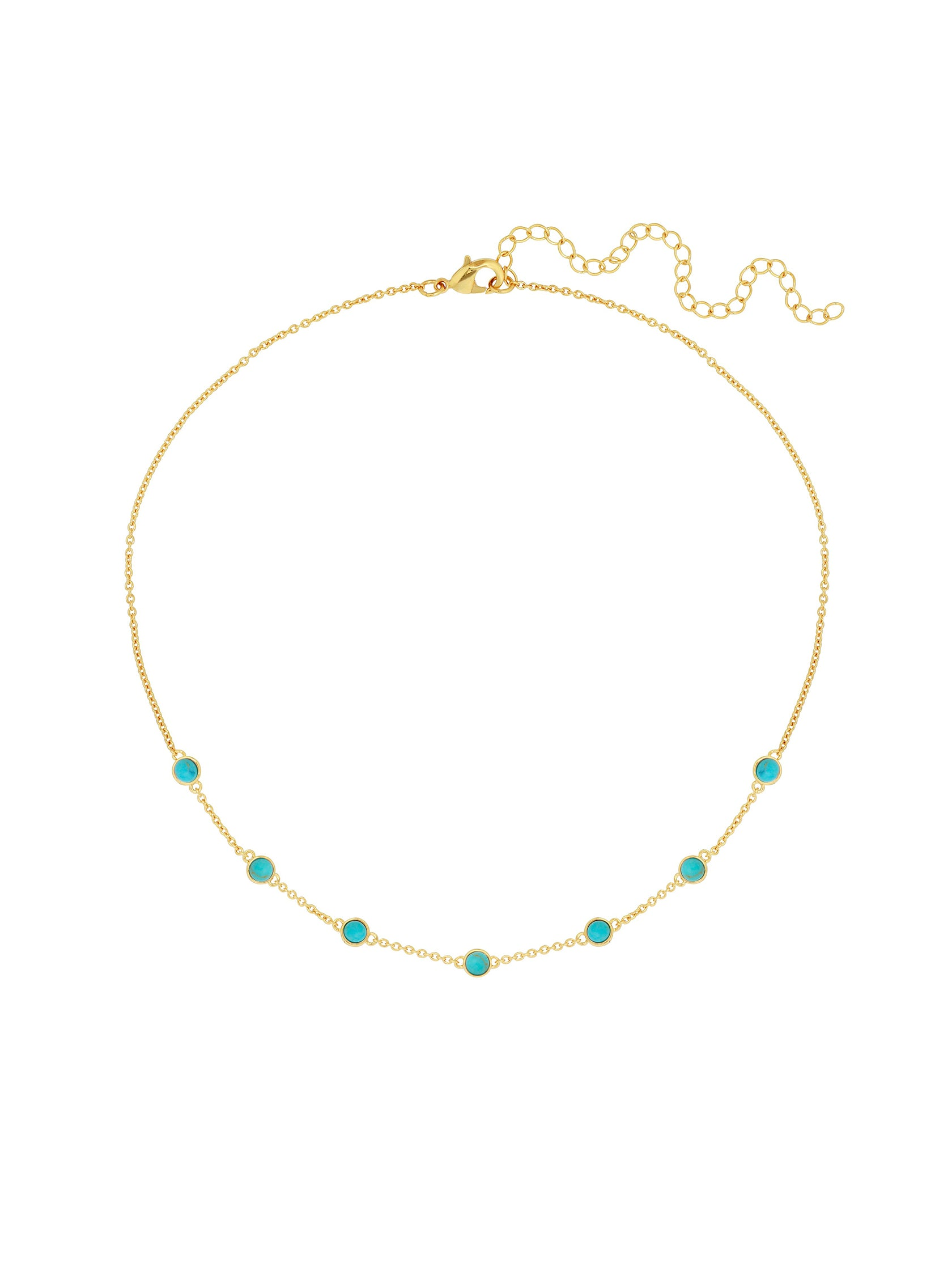 Women outfit in a necklace rental from Five and Two called Elizabeth Choker Necklace
