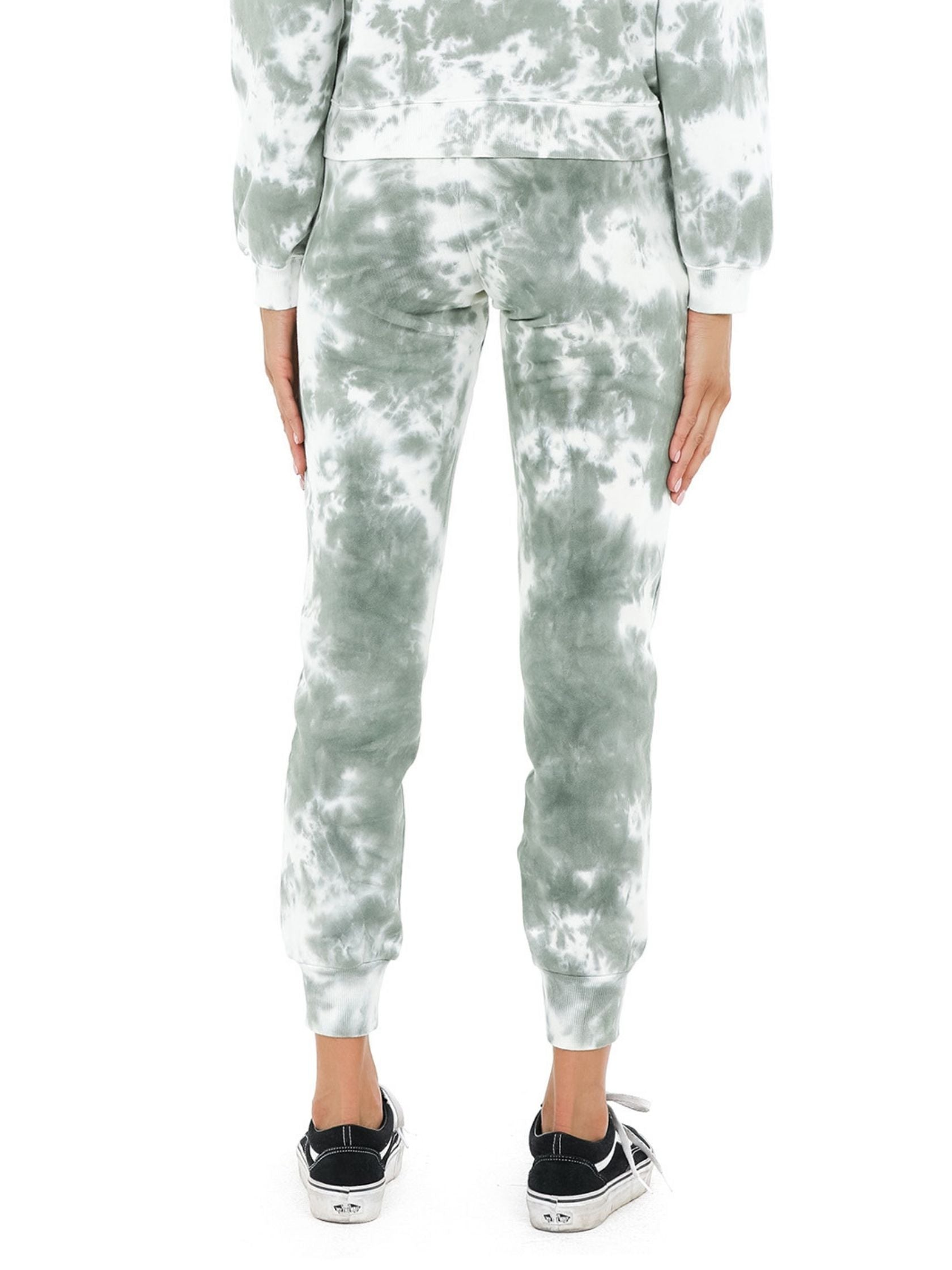 Women outfit in a joggers rental from 525 called French Terry Tie Dye Joggers