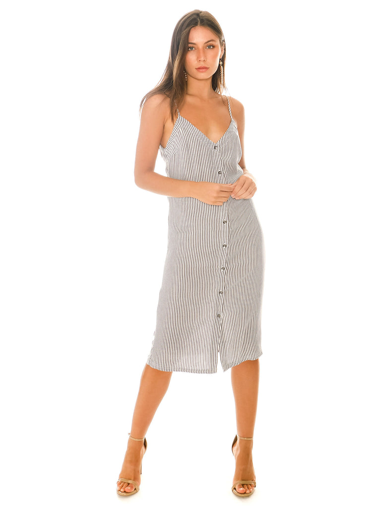 Women outfit in a dress rental from Splendid called Canyonlands Cord Jumper