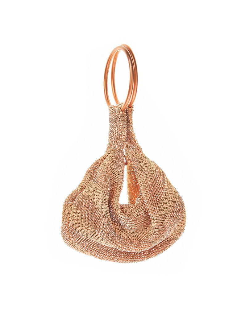 Women wearing a handbag rental from From St Xavier called Goldie Ring Bag