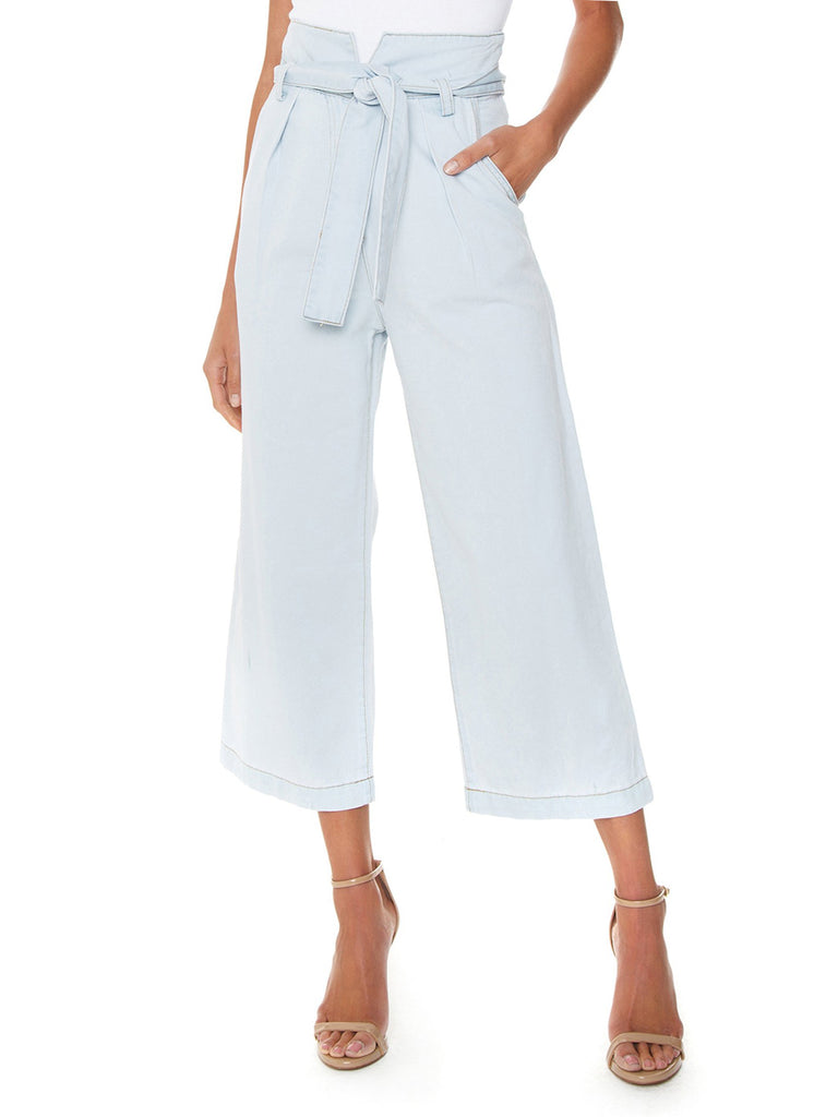 Women wearing a pants rental from ASTR called Leighton Jumpsuit