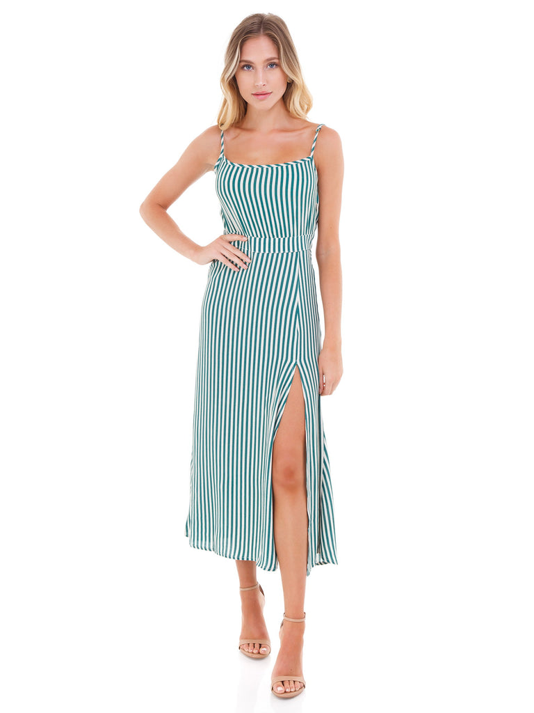 Girl outfit in a dress rental from Flynn Skye called Monica Maxi Dress
