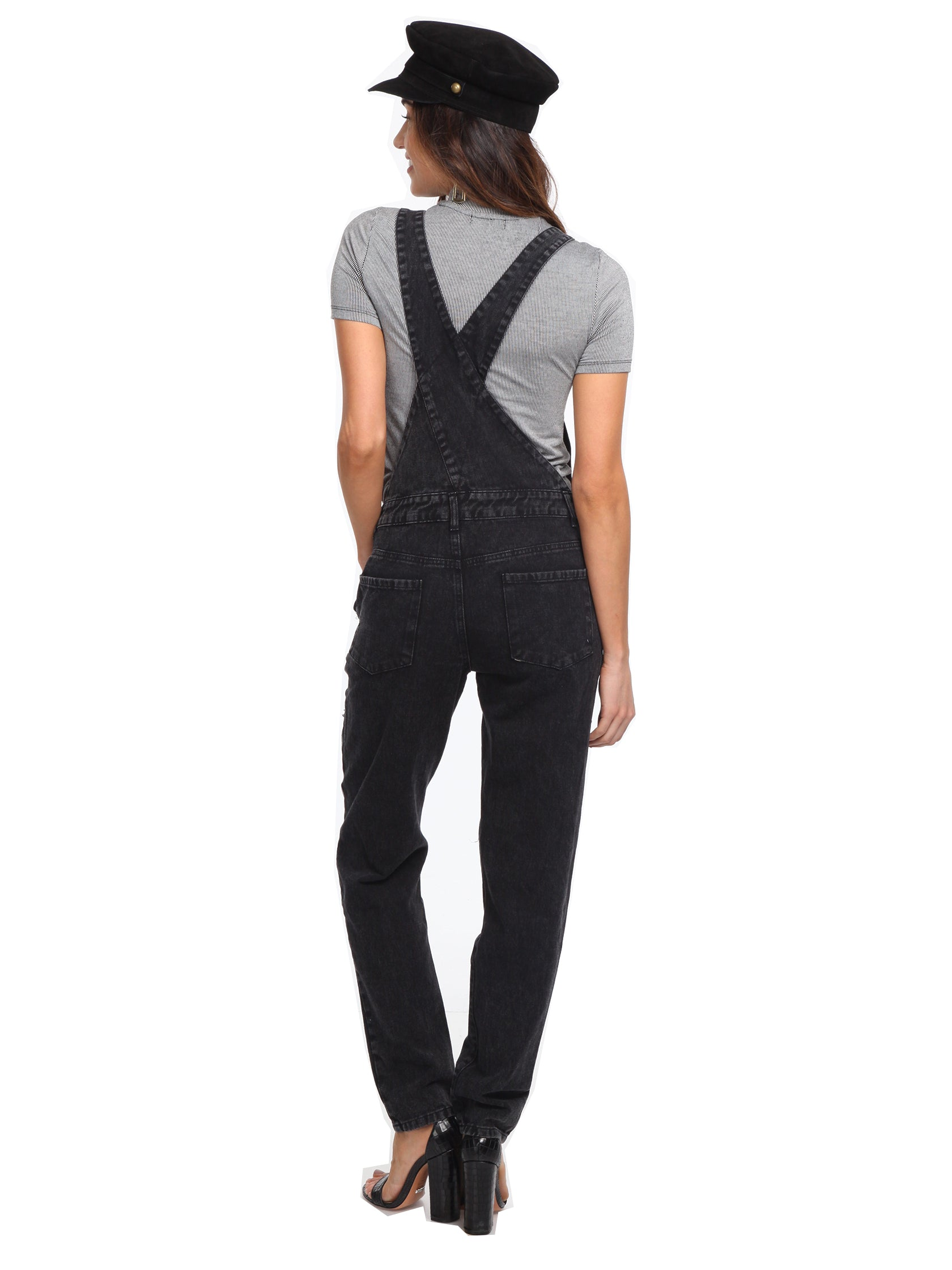 Girl outfit in a jumpsuit rental from FashionPass called Here For A Good Time Overalls