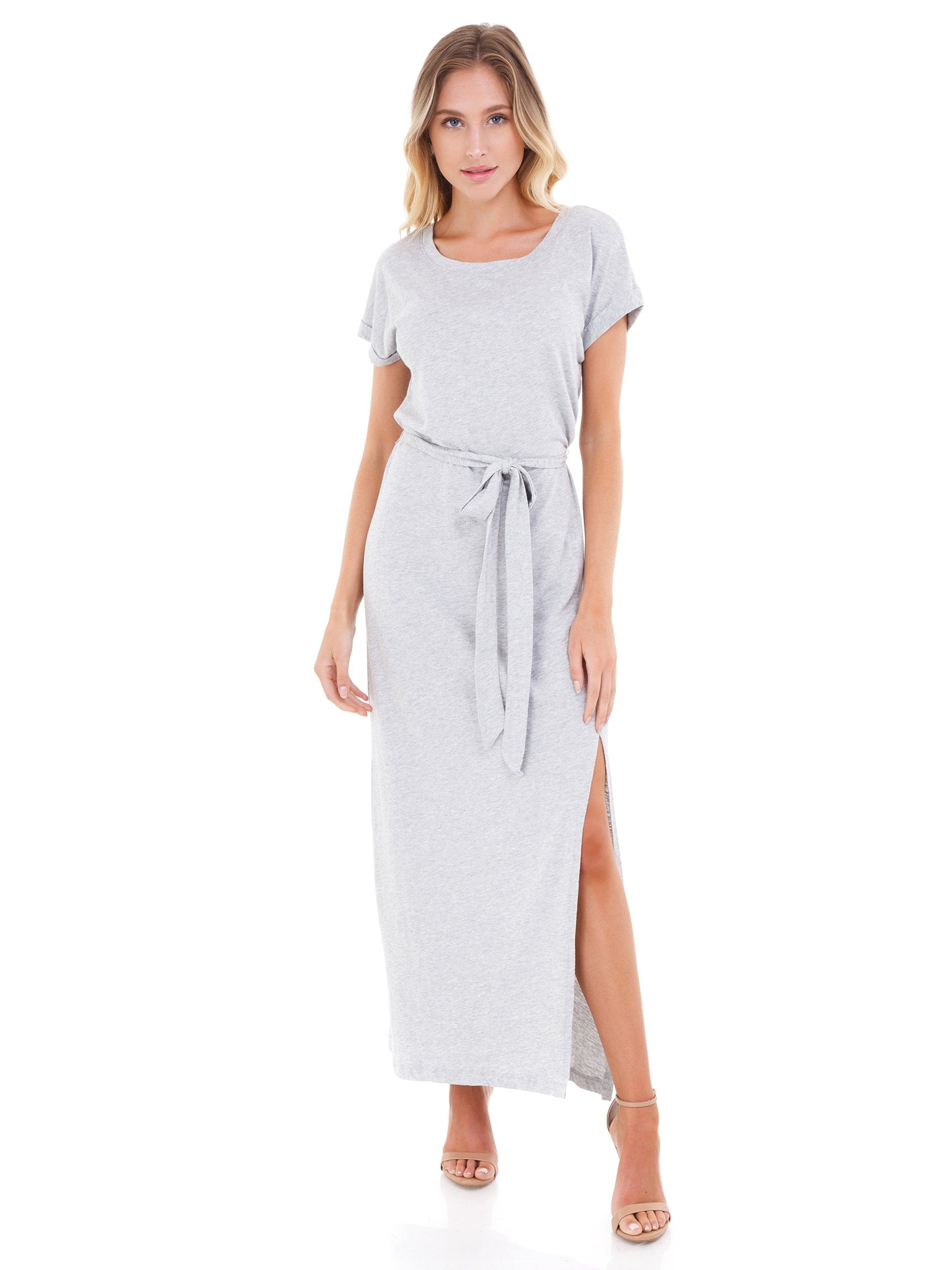 3b9868d60338 Women outfit in a dress rental from SANCTUARY called Isle T-shirt Maxi Dress