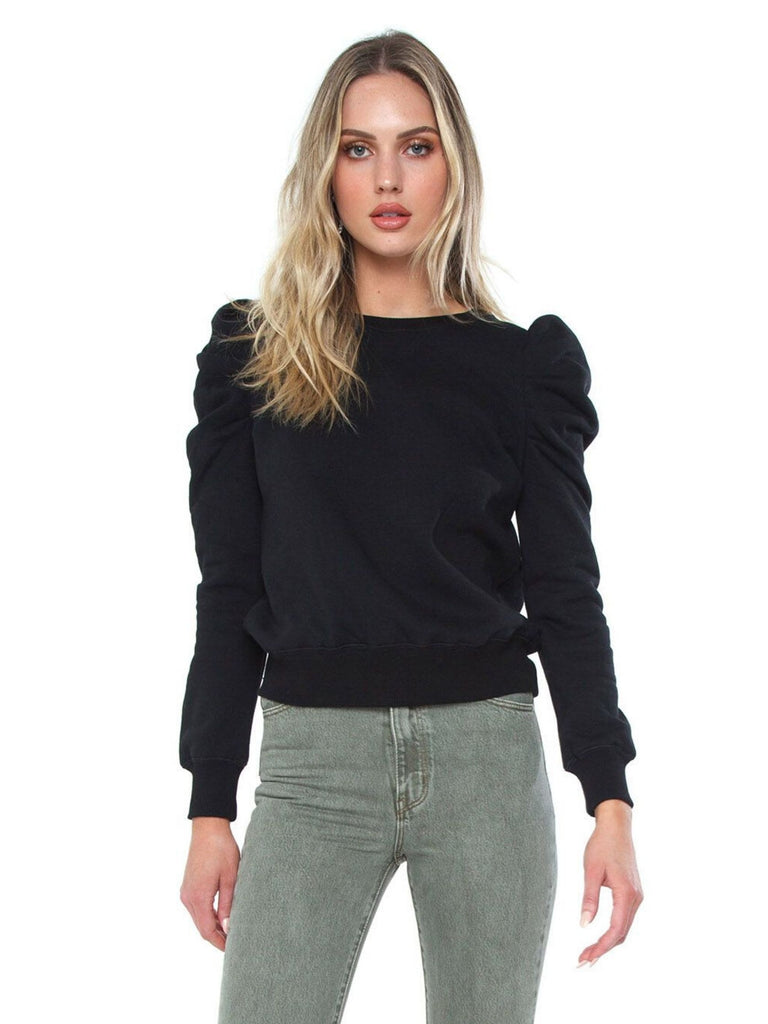 Women wearing a sweater rental from REBECCA MINKOFF called Venus Top