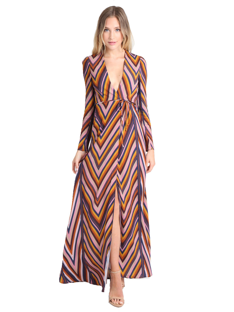 Women outfit in a dress rental from Flynn Skye called Brynn Deep Plunge Dress