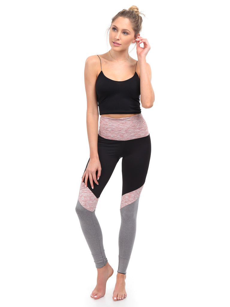 Women outfit in a leggings rental from BEACH RIOT called Ribbed Bike Short