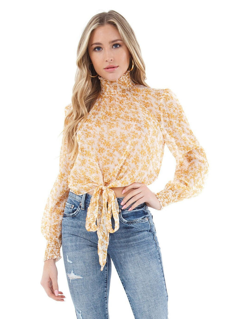 Women wearing a top rental from MINKPINK called Zella Sweater