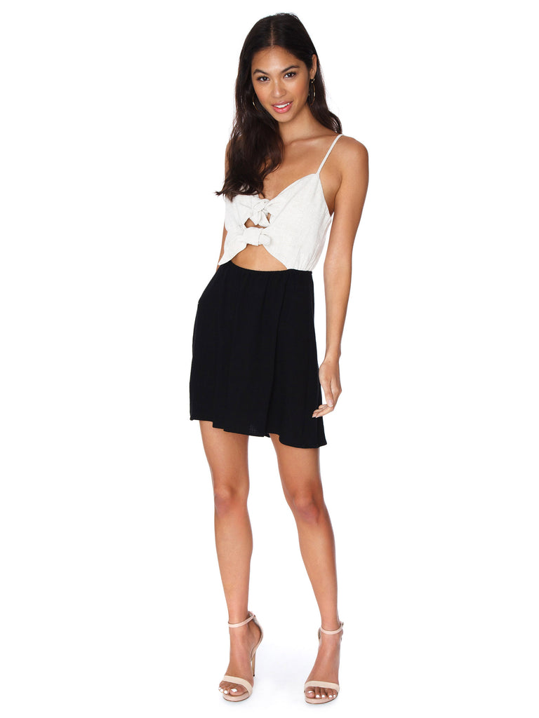 Women wearing a dress rental from Show Me Your Mumu called Heidi Ruffle Crop And Flirt Skirt