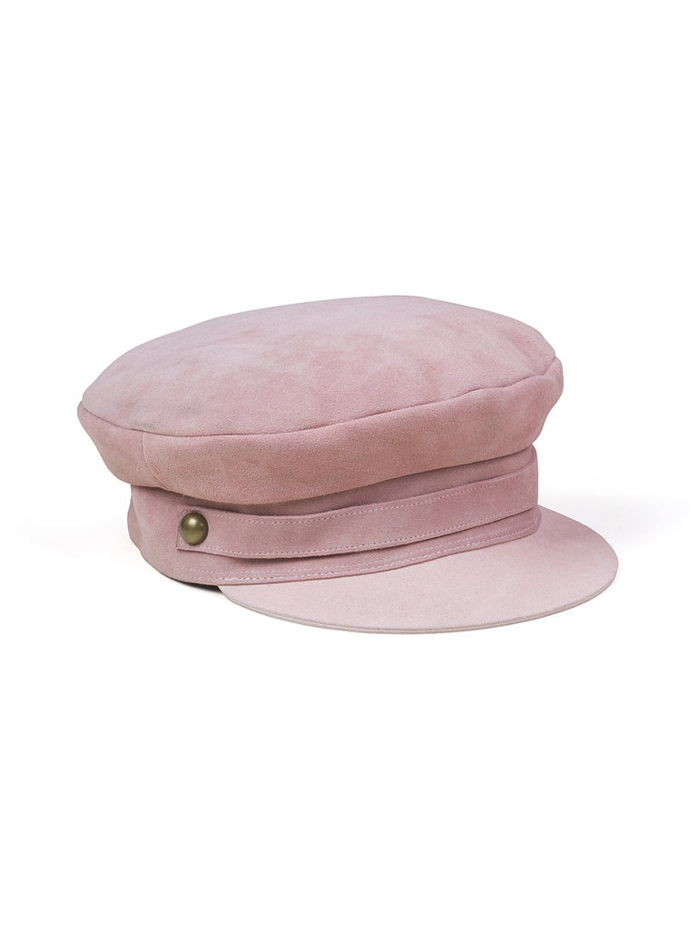 Girl wearing a hat rental from Lack of Color called Smooch Clutch