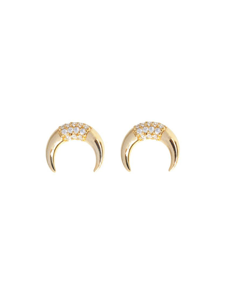 Girl outfit in a earrings rental from Wanderlust + Co called Zodiac Gold Ring (select Your Sign)