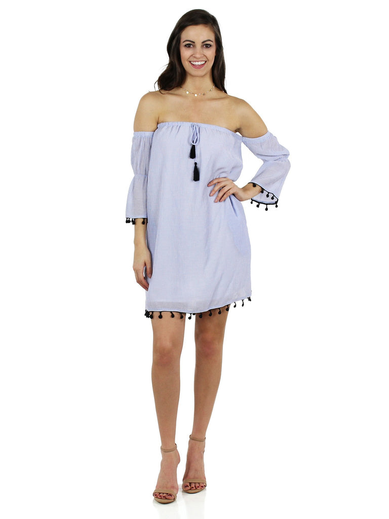 Girl outfit in a dress rental from Lush called V-neck Ruffle Sleeve Top