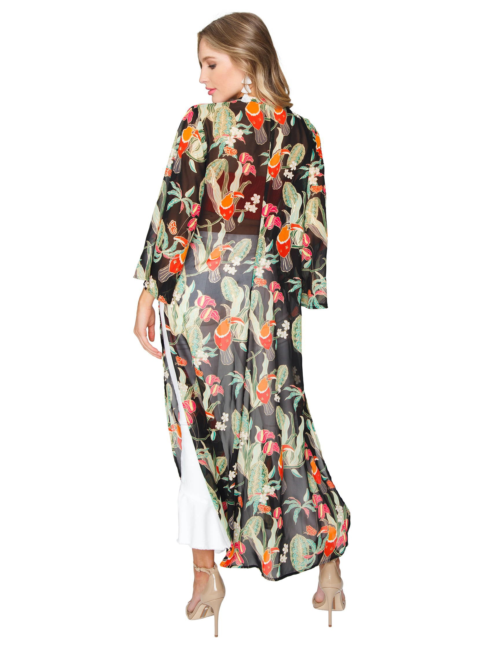 a43fbdf96bd Women outfit in a jacket rental from Show Me Your Mumu called Marissa Cape