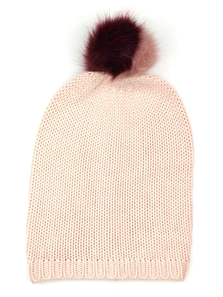 Women wearing a hat rental from Michael Stars called Give Me Your Cashmere Fingerless Gloves