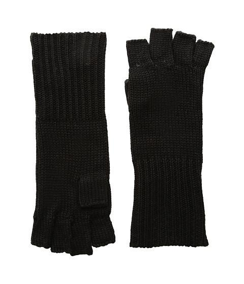 Girl wearing a gloves rental from Michael Stars called Give Me Your Cashmere Fingerless Gloves