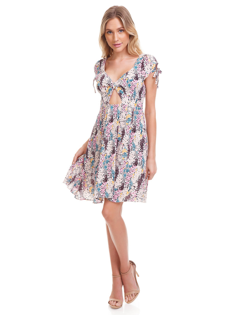Women wearing a dress rental from Free People called Will Wait For You Midi Dress