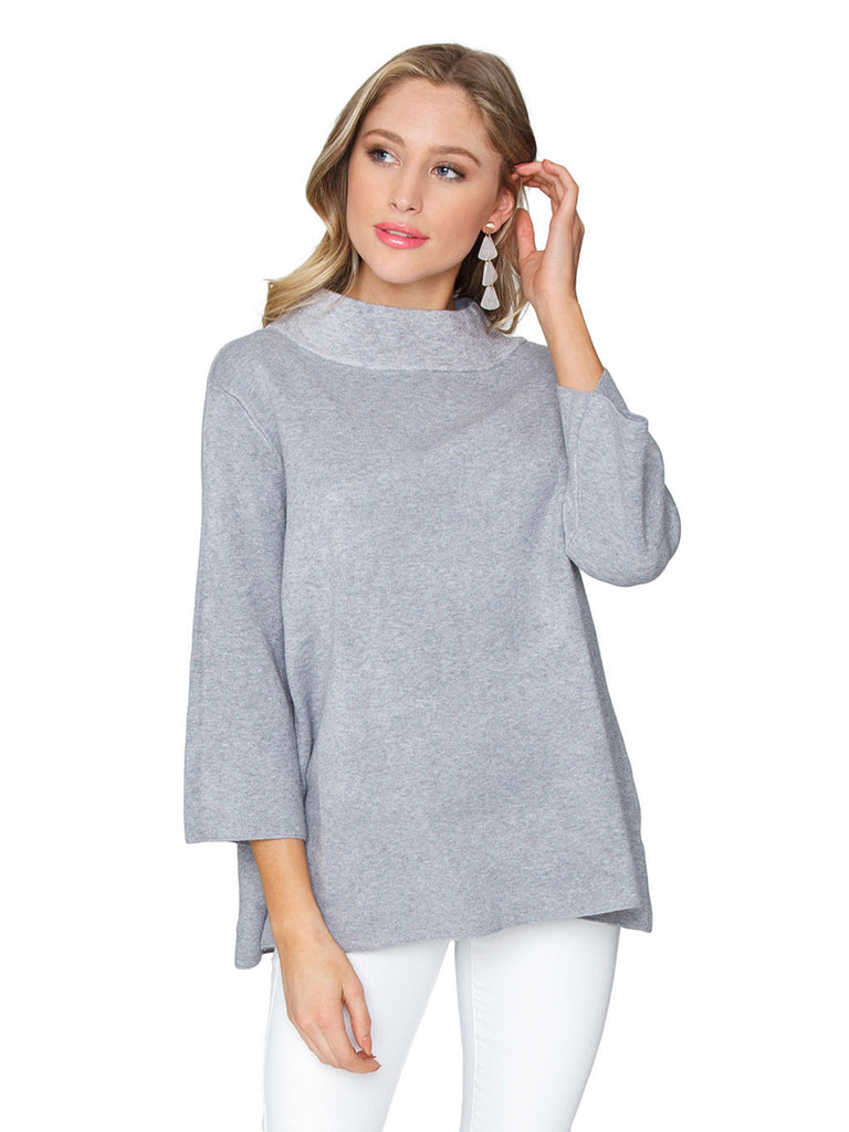 Woman wearing a sweater rental from FashionPass called V Neck Sweater
