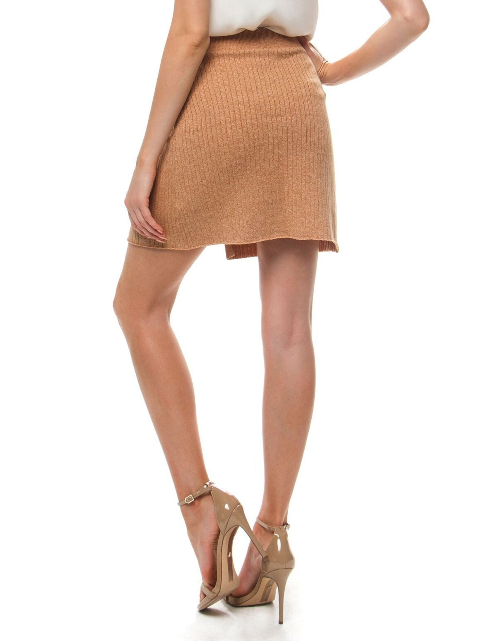 Women outfit in a skirt rental from Free People called Mod Wrap Skirt