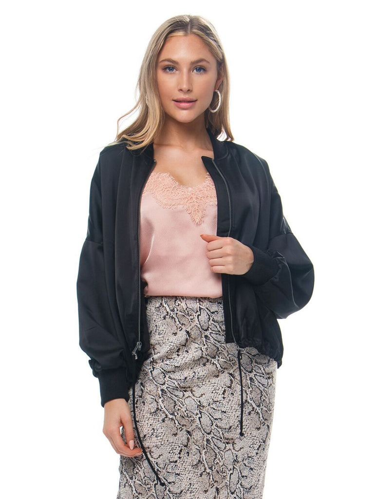 Girl outfit in a jacket rental from BB Dakota called Tiger Lily Bell Sleeve Top