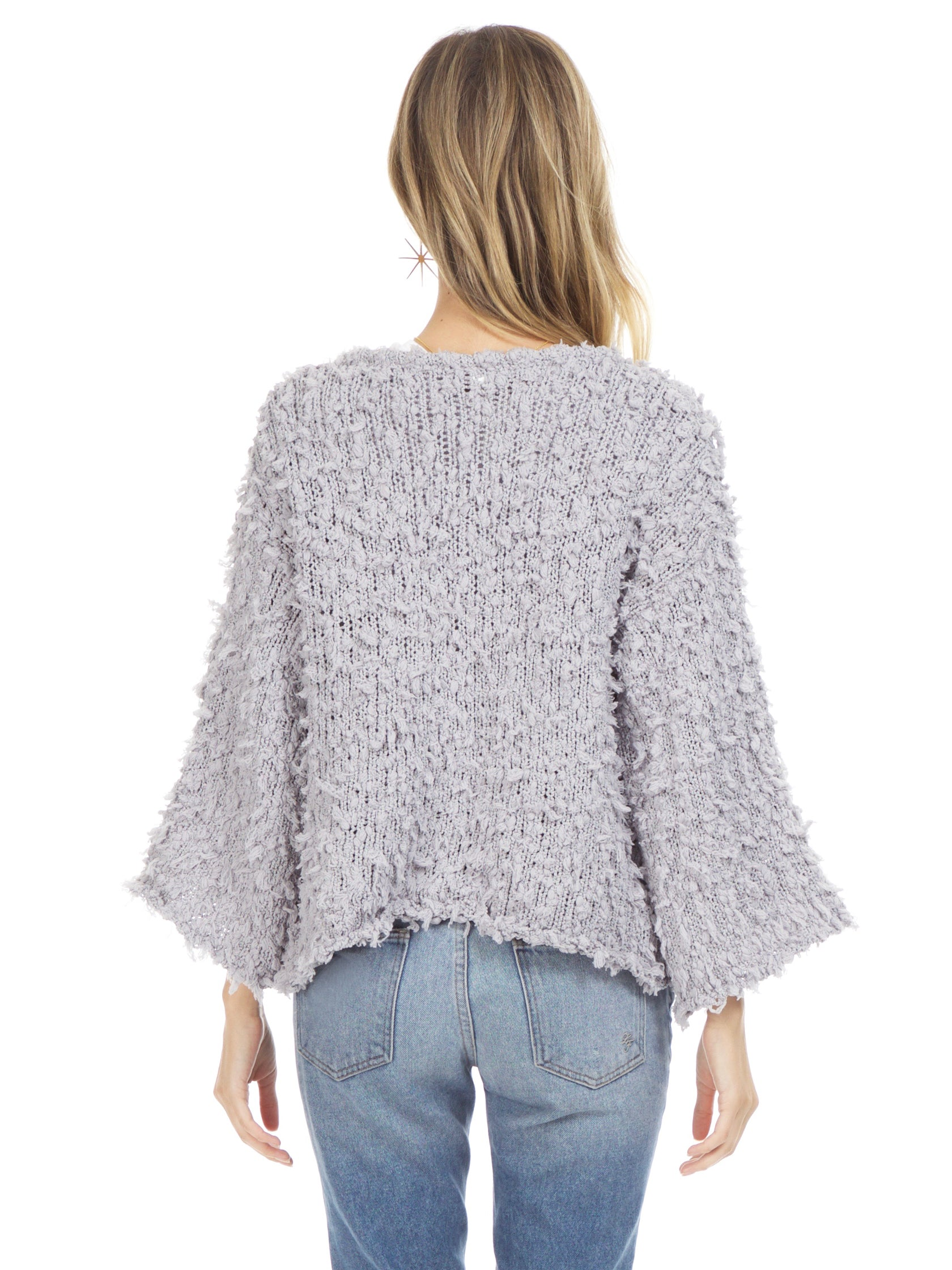 Women outfit in a cardigan rental from Sadie & Sage called Popcorn Knit Cardigan