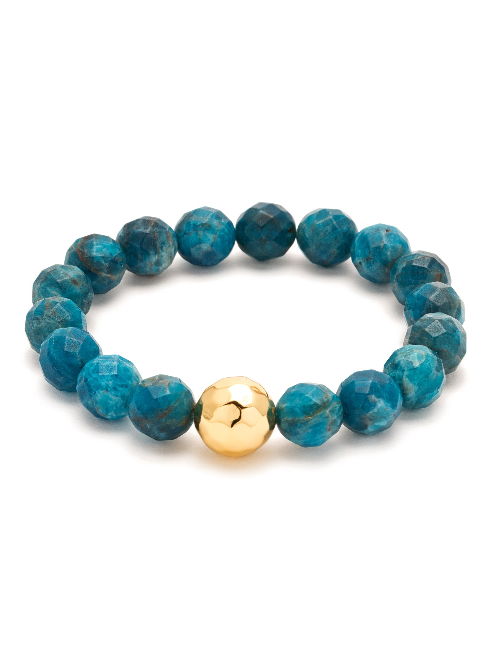 Girl outfit in a bracelet rental from Gorjana called Power Gemstone Apatite Statement Bracelet (inspiration)
