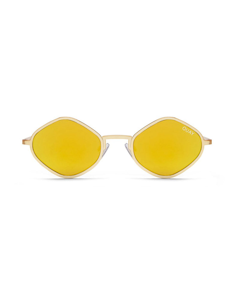 Women wearing a sunglasses rental from Quay Australia called Adella Bralette
