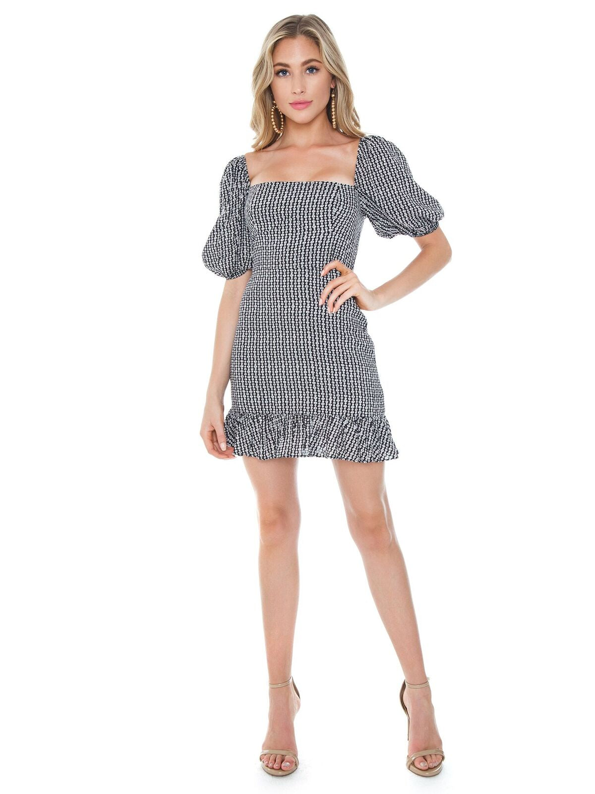 Girl outfit in a dress rental from Lani The Label called Romee Dress