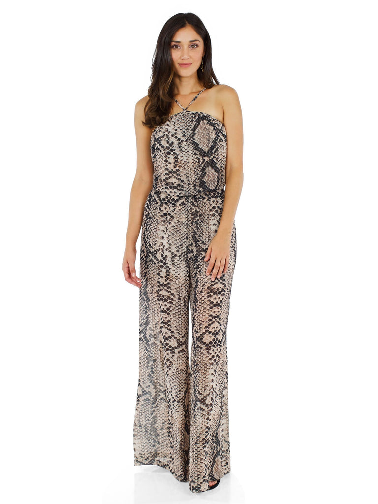 Women outfit in a jumpsuit rental from Show Me Your Mumu called Abby Off Shoulder Tiered Maxi Dress