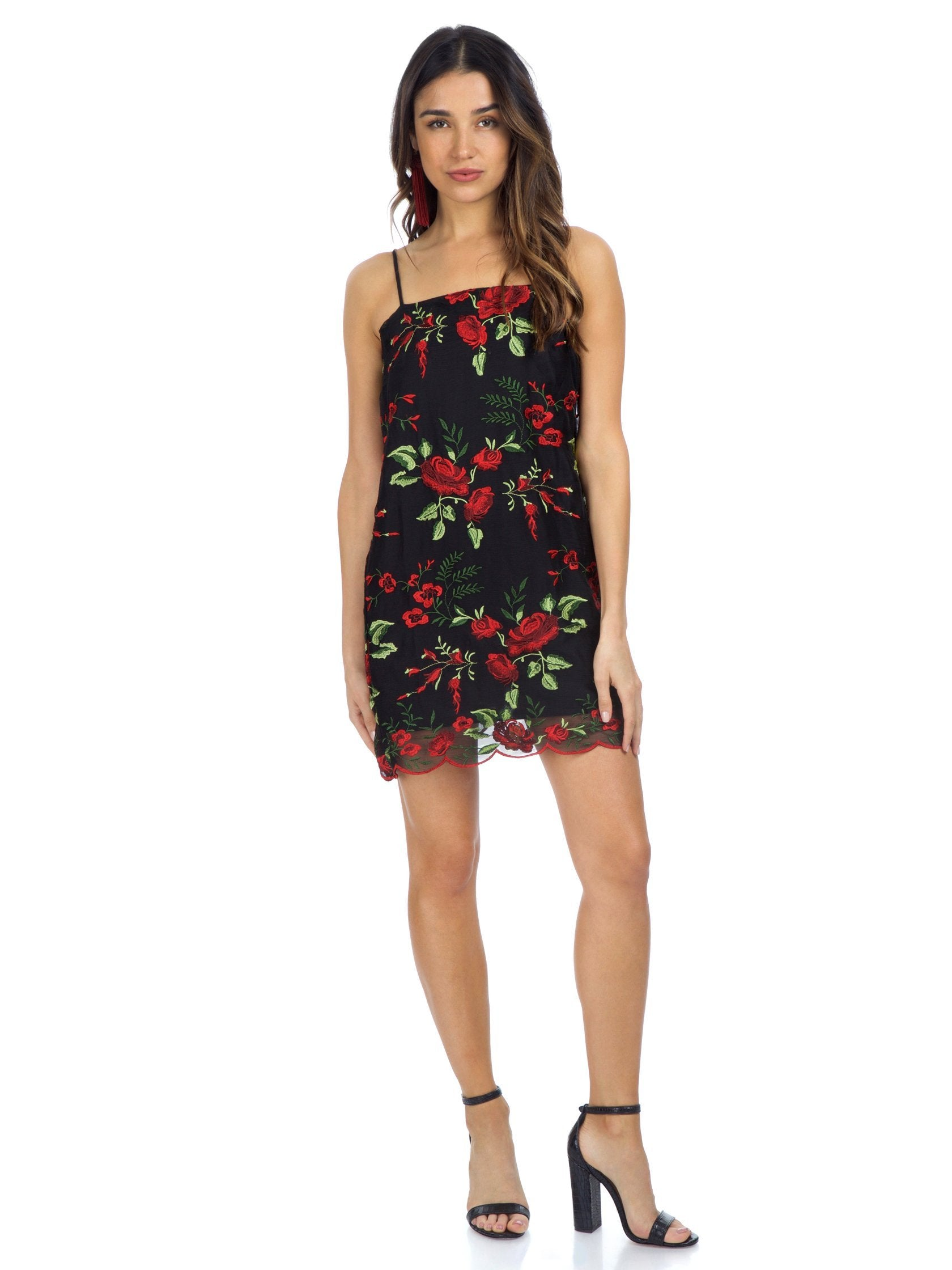 64b425f7b0d Girl outfit in a dress rental from Show Me Your Mumu called Super Slip Dress