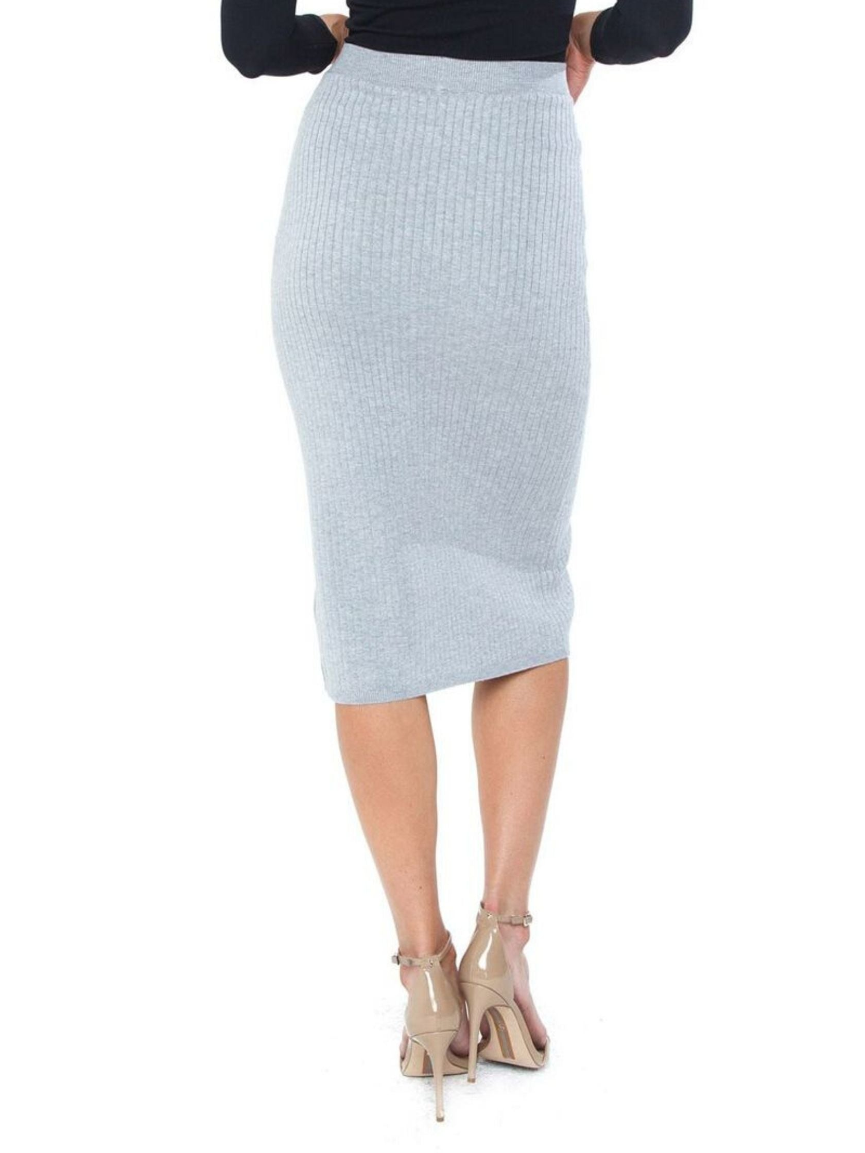 Women outfit in a skirt rental from Free People called Skyline Midi