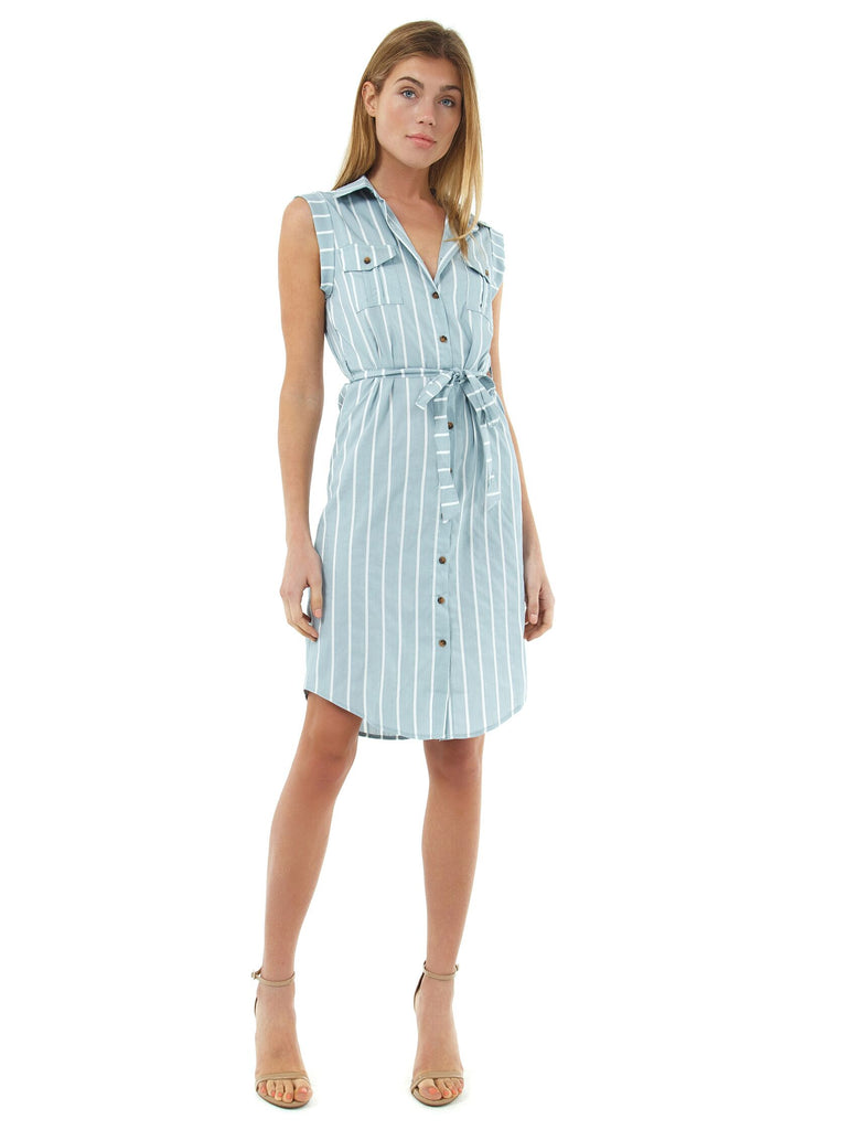 Women wearing a dress rental from Bishop + Young called Laurel Mini Dress