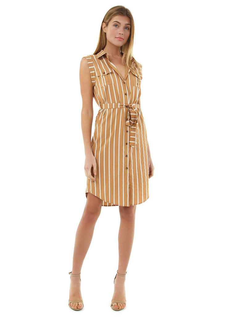 Girl wearing a dress rental from Bishop + Young called Dancer Wrap Dress