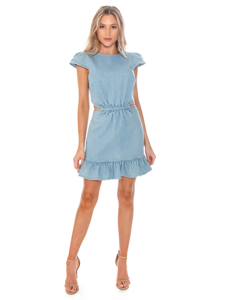 Girl wearing a dress rental from Lani The Label called Romee Dress