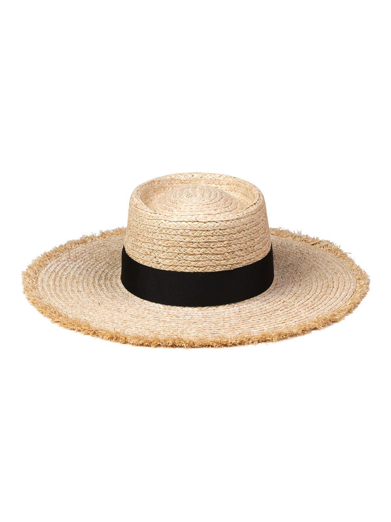 Women outfit in a hat rental from Lack of Color called Dunes Cap