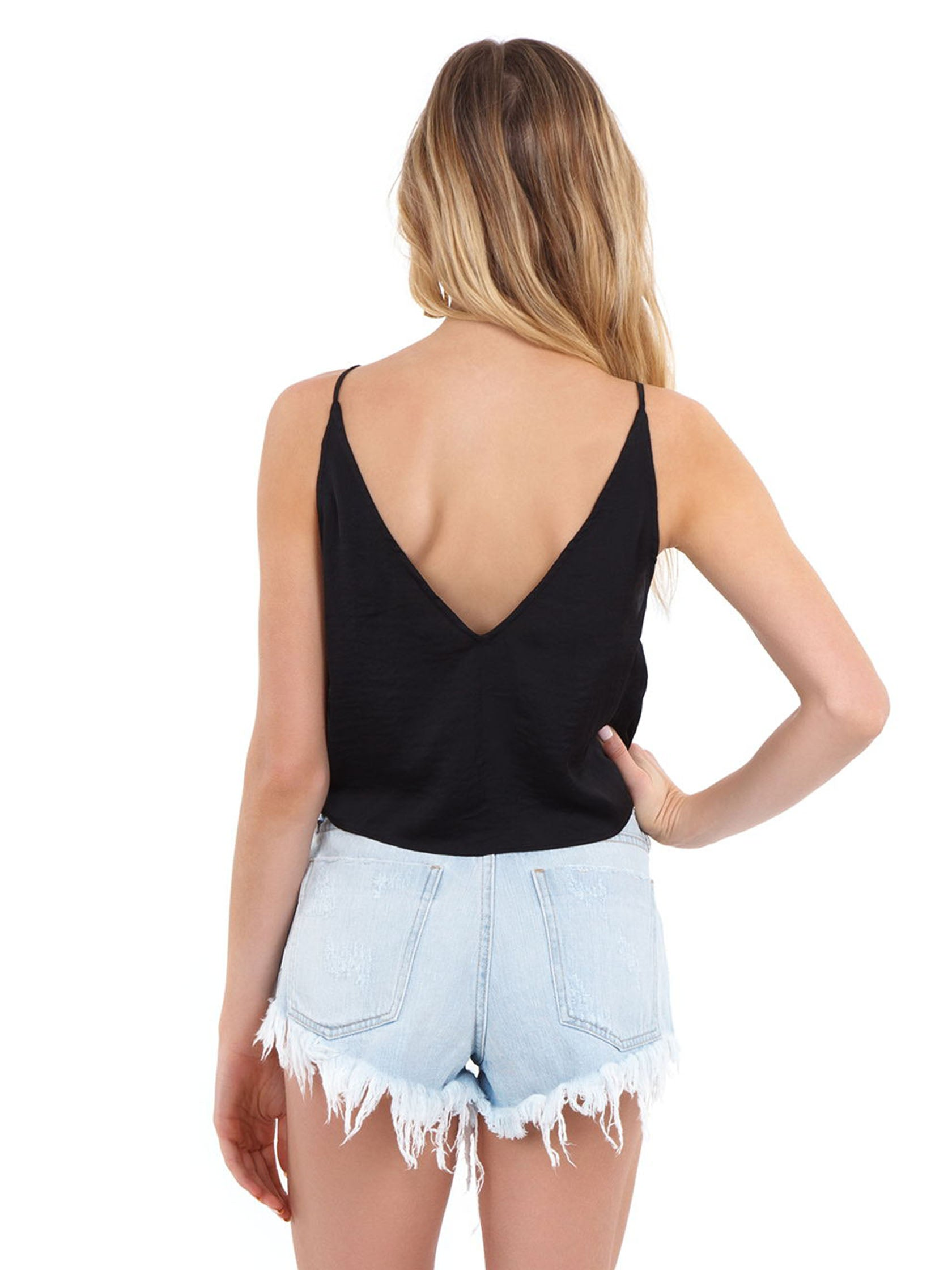 45228d52556 Women wearing a cami rental from Free People called Two Tie For You Brami