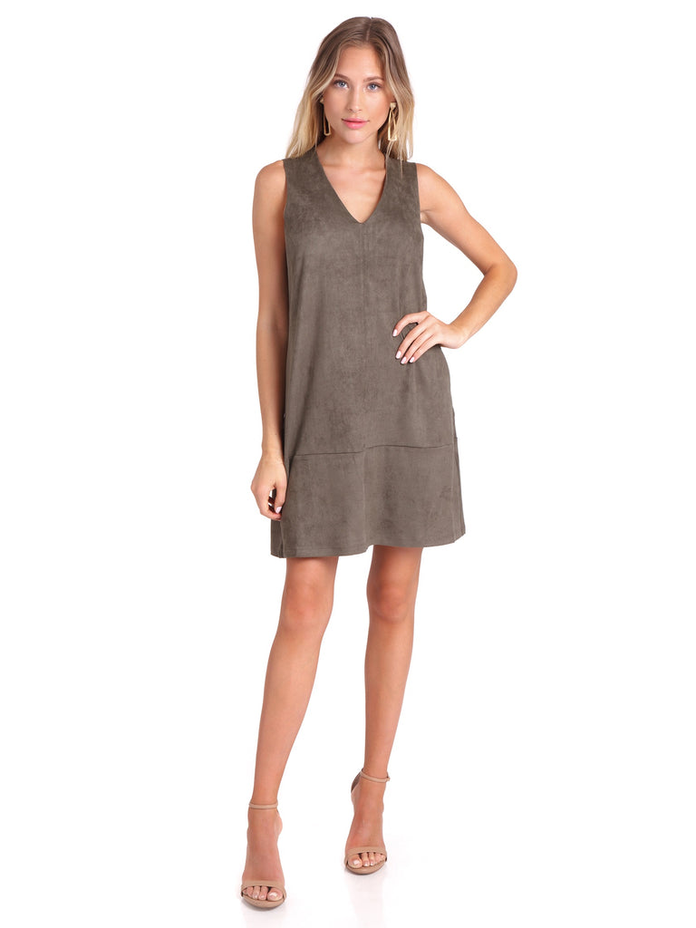 Women outfit in a dress rental from Bishop + Young called Florentina Wrap Dress