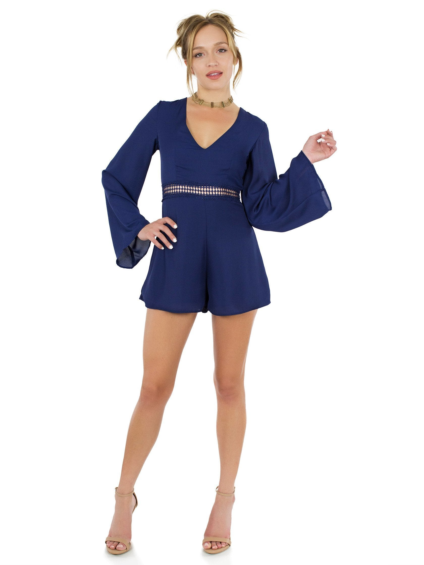 Girl outfit in a romper rental from WYLDR called Hope So Romper