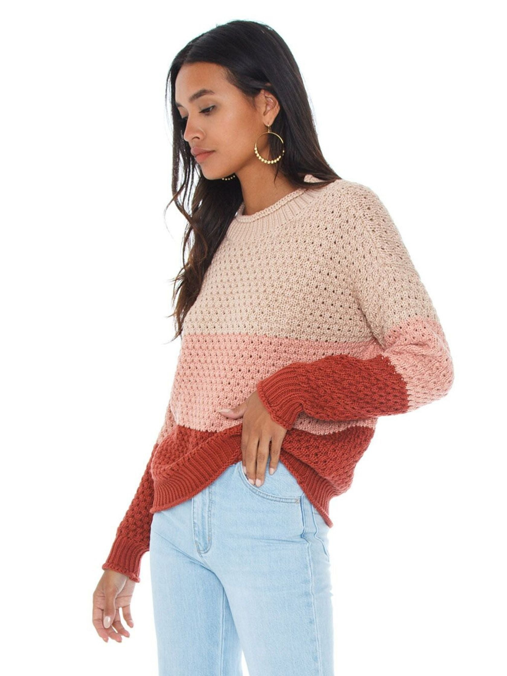 Women wearing a sweater rental from Knot Sisters called Zella Sweater