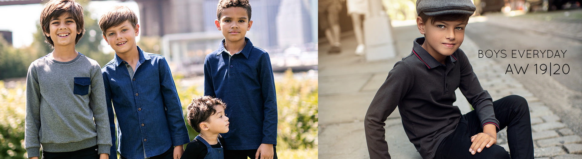 AW1920 Boys' Everyday Shirts & Tops