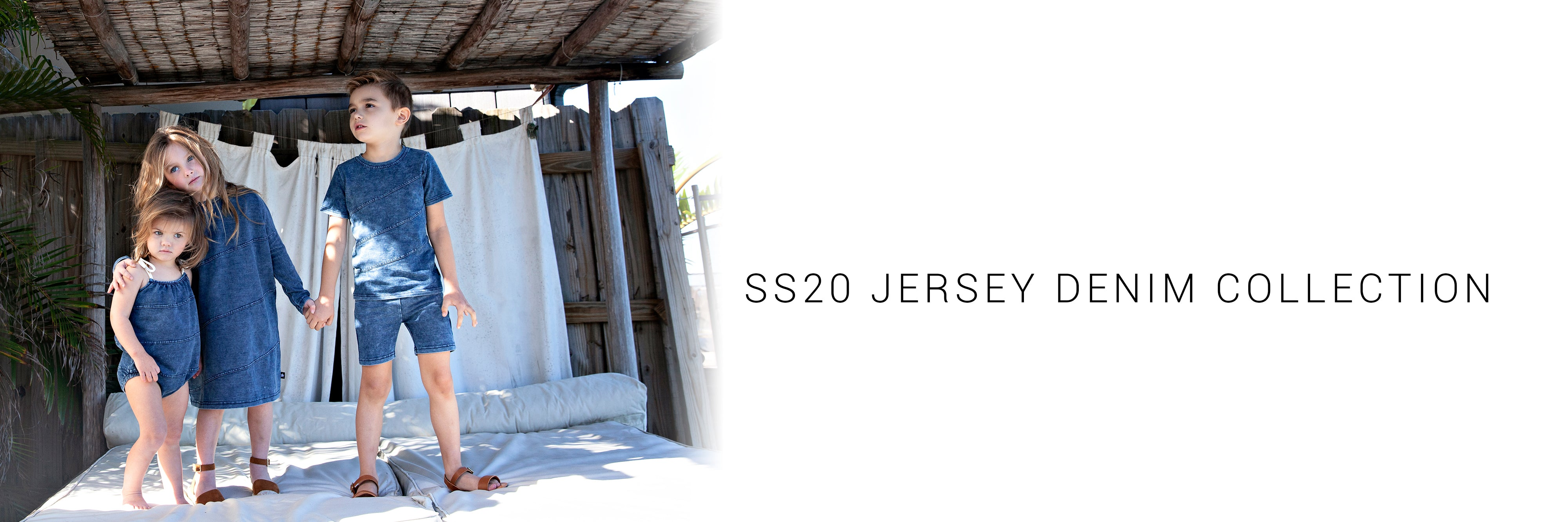 SS20 Jersey Denim Collection