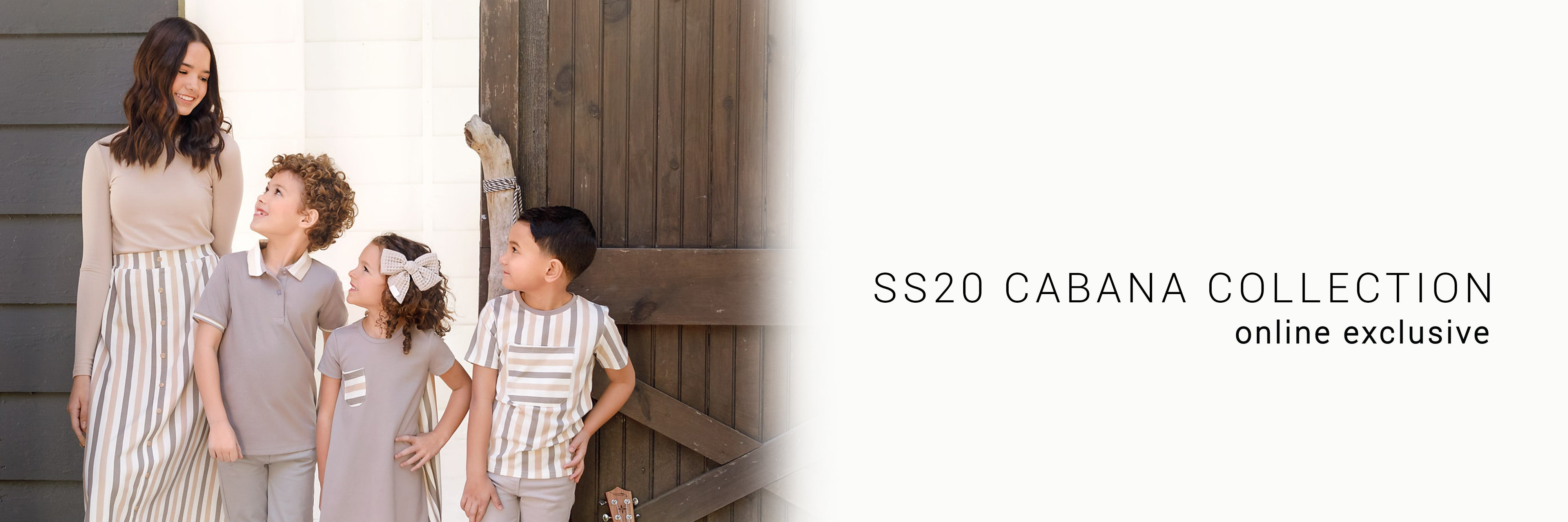 SS20 Cabana Stripe Collection