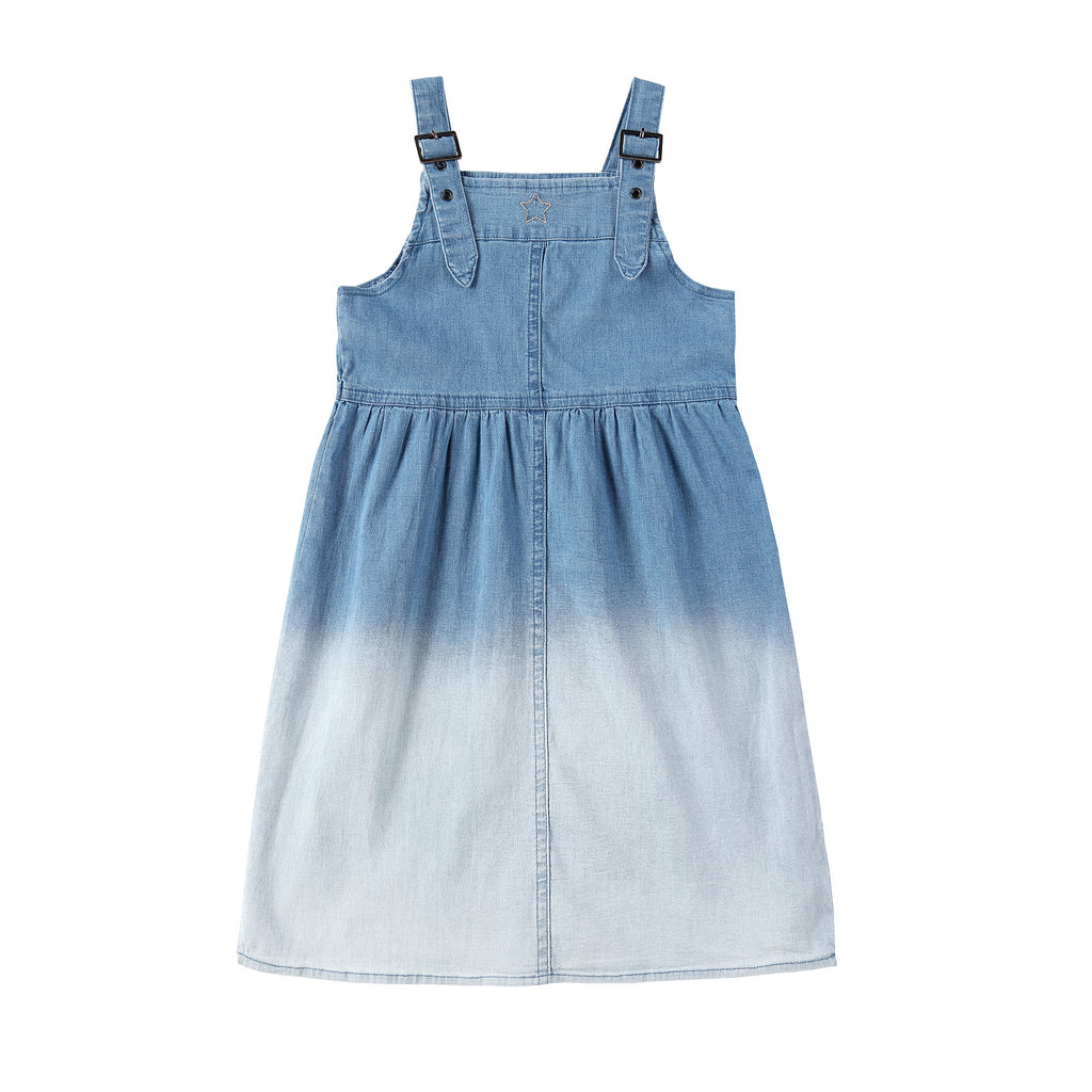 Girls Denim Ombre Jumper