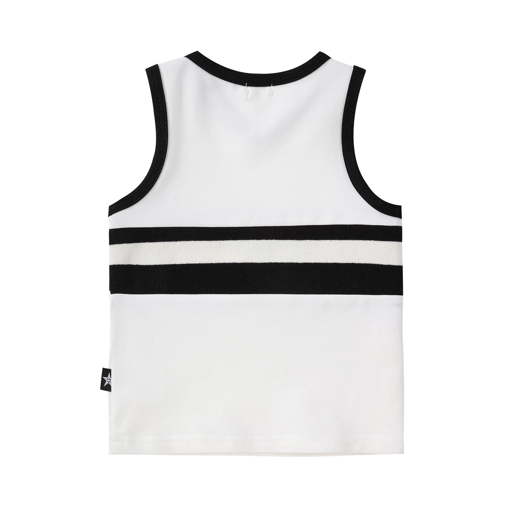 Black and White Tank