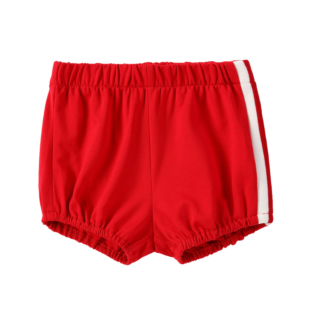 Red Bloomer Shorts