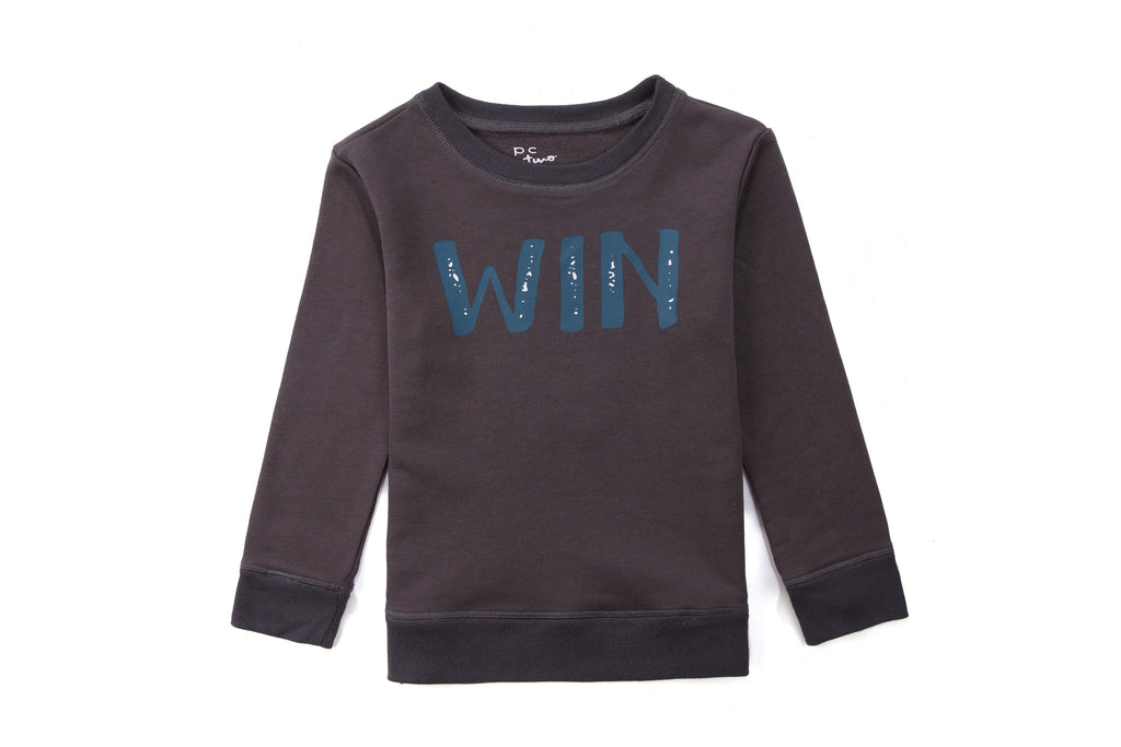Boy Sweatshirt in Winter Print