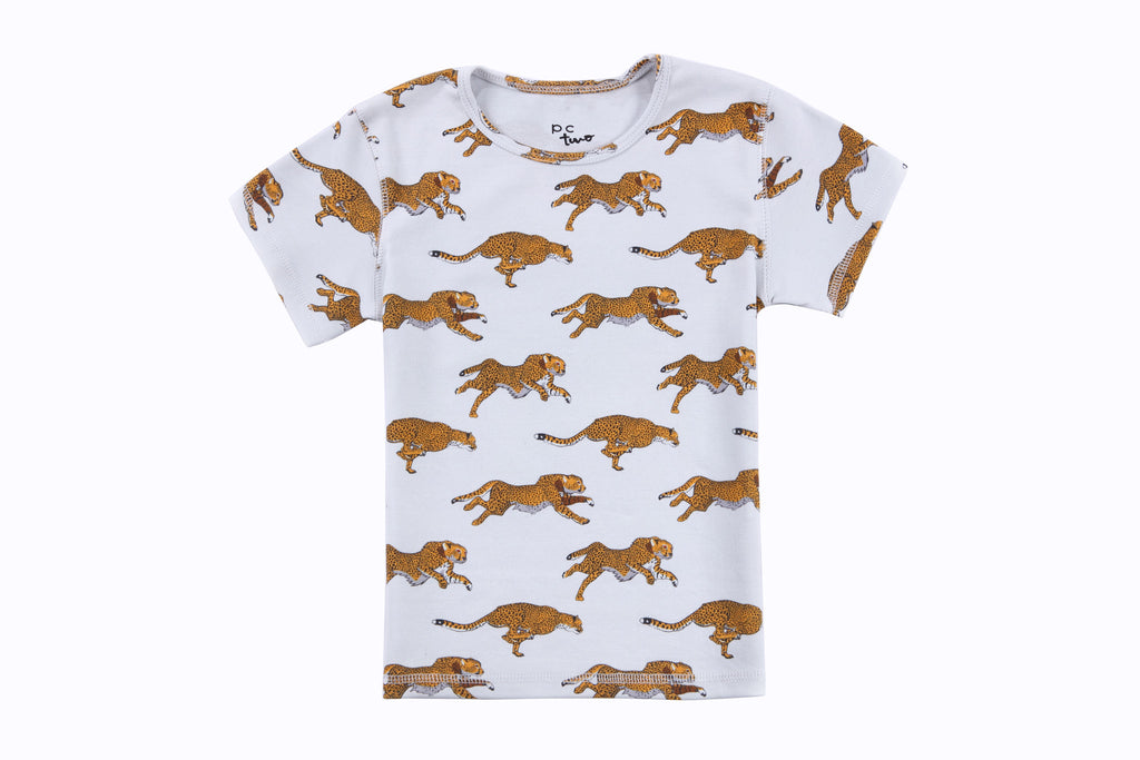 Cole Boys Tee Shirt in Tiger Print