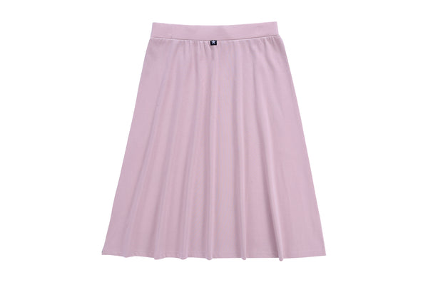 Girls A-line Skirt in Muave